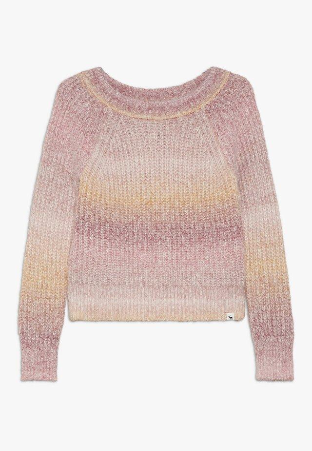 MARILYN NECKLINE - Trui - pink space dye