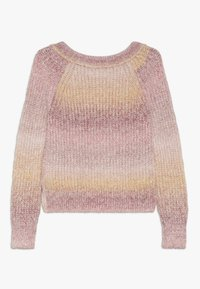 Abercrombie & Fitch - MARILYN NECKLINE - Maglione - pink space dye - 1