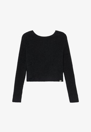 BACK DETAIL MATCH - Jumper - open black