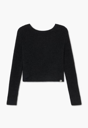 BACK DETAIL MATCH - Maglione - open black