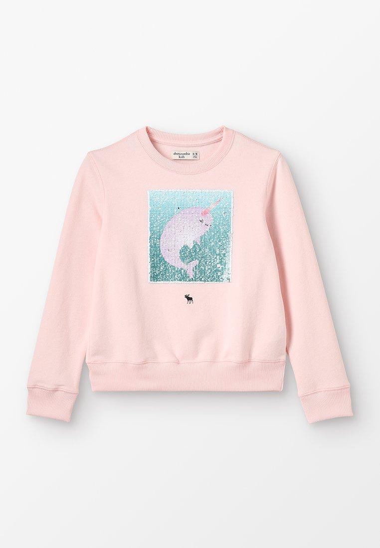 Abercrombie & Fitch - FLIP CREW - Sweatshirt - lavender