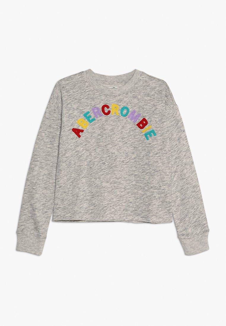 Abercrombie & Fitch - MATCHBACK CREW - Sweatshirt - grey