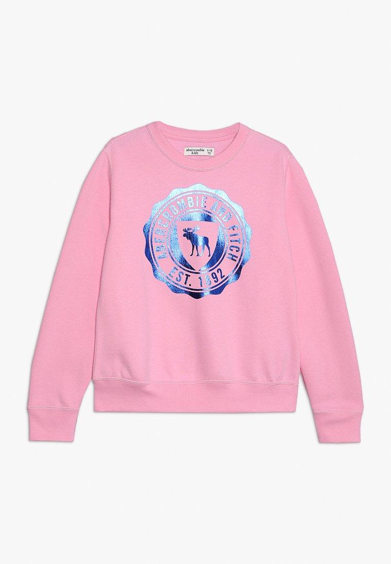 Abercrombie & Fitch - CREW - Sweatshirt - pink