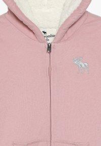 Abercrombie & Fitch - Lehká bunda - pink - 4