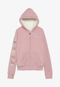 Abercrombie & Fitch - Lehká bunda - pink - 3