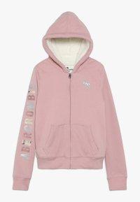 Abercrombie & Fitch - Lehká bunda - pink - 0