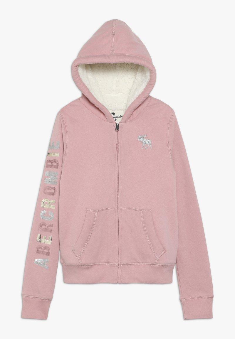 Abercrombie & Fitch - Lehká bunda - pink