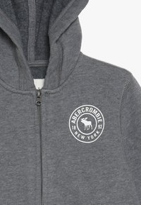 Abercrombie & Fitch - Zip-up hoodie - grey - 3
