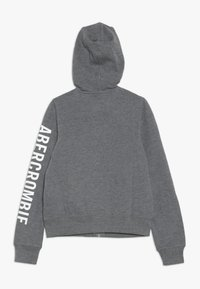 Abercrombie & Fitch - Zip-up hoodie - grey - 1