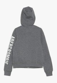 Abercrombie & Fitch - Mikina na zip - grey - 1