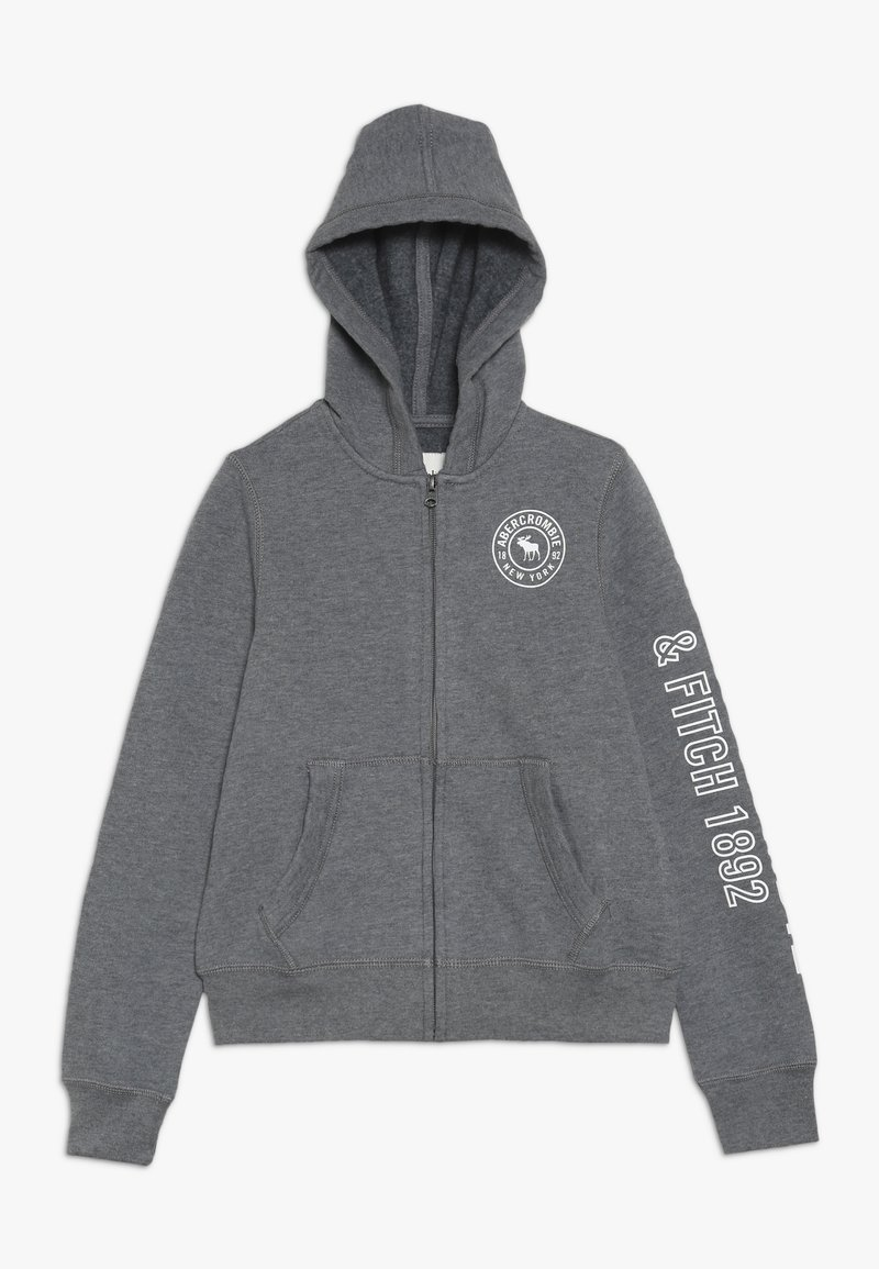 Abercrombie & Fitch - Zip-up hoodie - grey