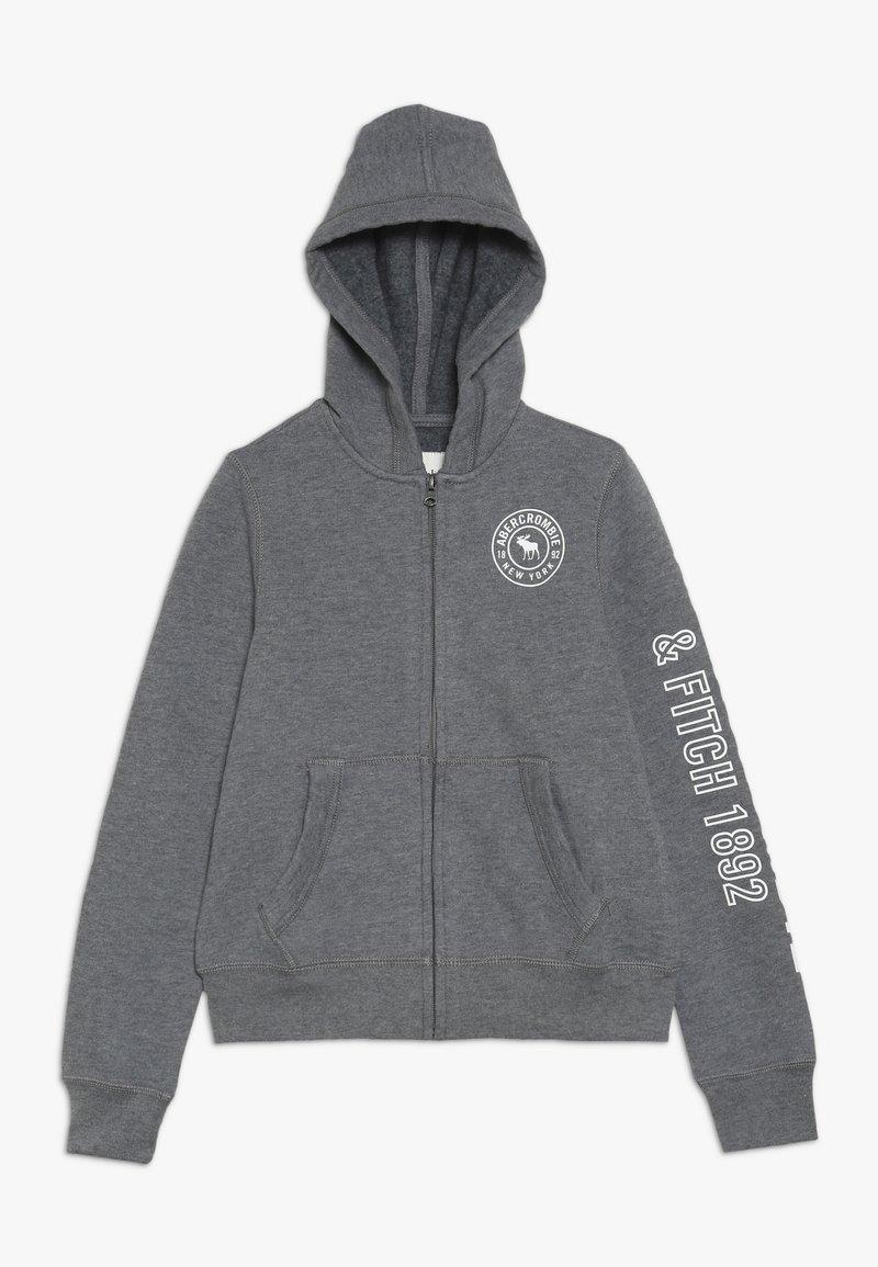 Abercrombie & Fitch - Mikina na zip - grey
