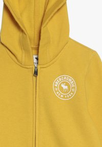 Abercrombie & Fitch - Mikina na zip - yellow - 3