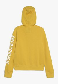 Abercrombie & Fitch - Mikina na zip - yellow - 1