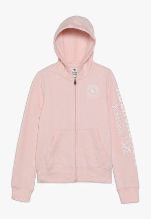 Bluza rozpinana - pink