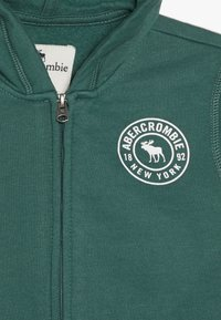 Abercrombie & Fitch - Mikina na zip - green - 3