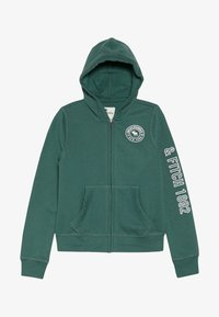 Abercrombie & Fitch - Mikina na zip - green - 2