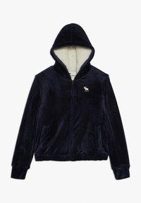 Abercrombie & Fitch - Mikina na zip - dark blue - 0