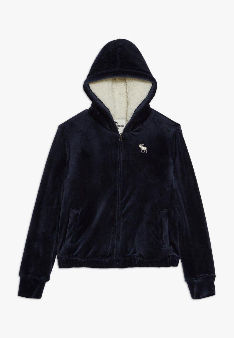 Abercrombie & Fitch - Mikina na zip - dark blue