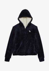 Abercrombie & Fitch - Mikina na zip - dark blue - 2