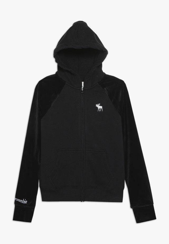 CORE  - Mikina na zip - black