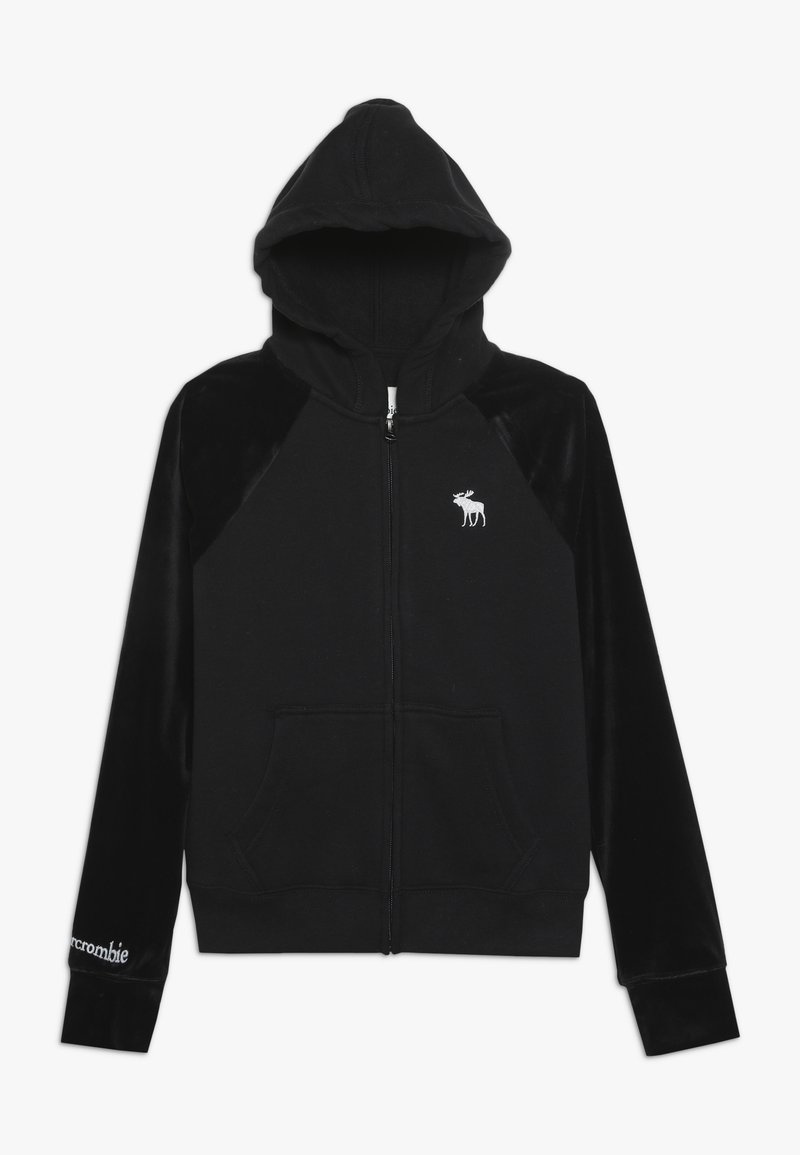Abercrombie & Fitch - CORE  - Zip-up hoodie - black