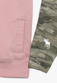 Abercrombie & Fitch - YOKE BLOCKED - Sweatshirt - pink - 2