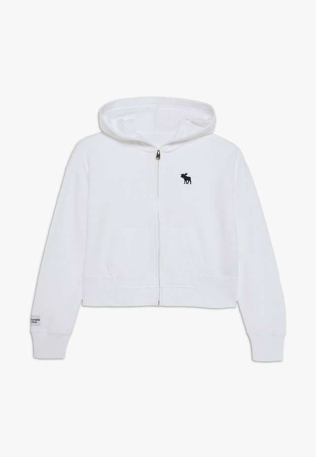 CORE FULLZIP  - Zip-up hoodie - white