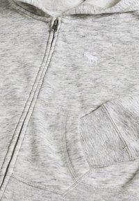 Abercrombie & Fitch - CORE FULLZIP  - Mikina na zip - grey - 3