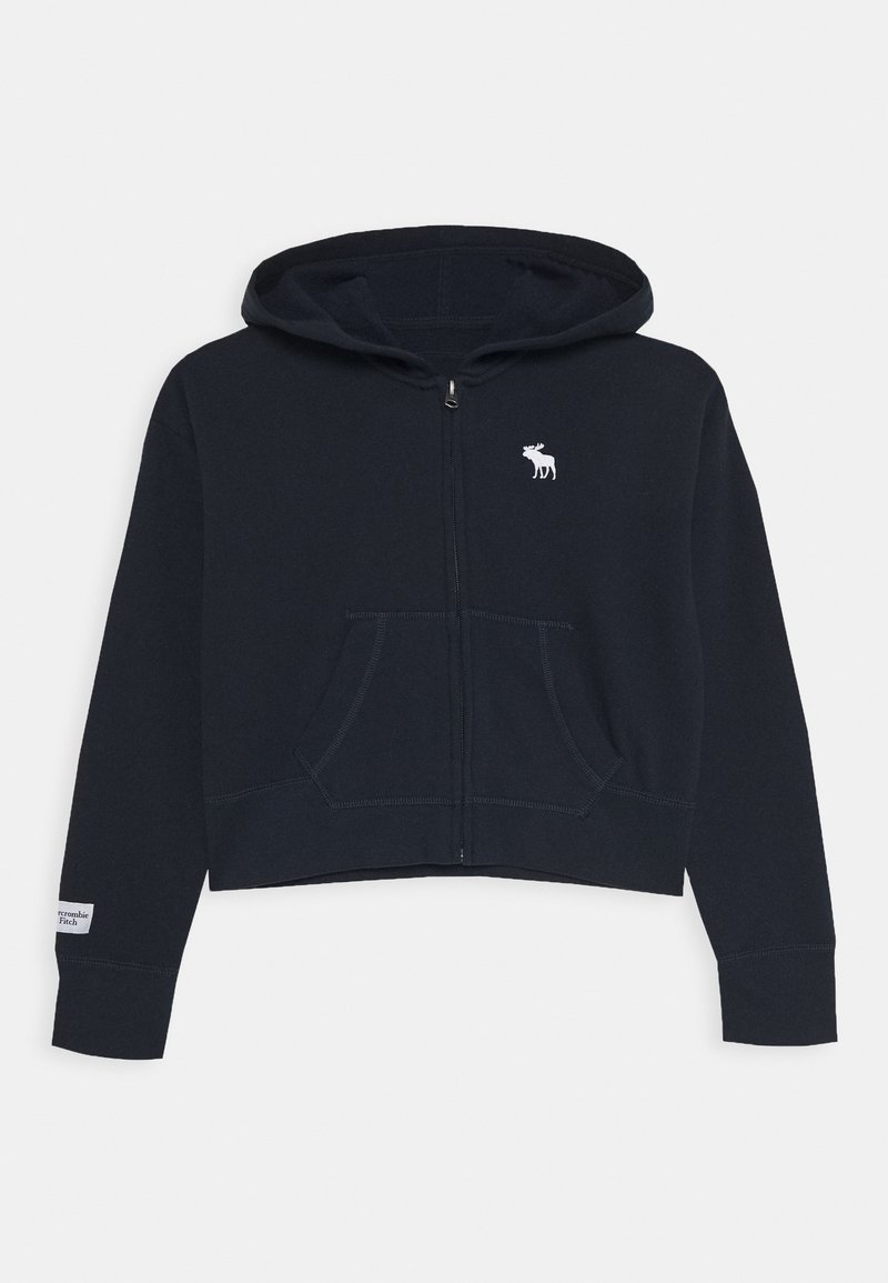 Abercrombie & Fitch - CORE FULLZIP  - Mikina na zip - navy