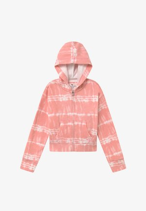 CORE FULLZIP WASH - Collegetakki - pink