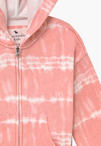 Abercrombie & Fitch - CORE FULLZIP WASH - Zip-up hoodie - pink - 3
