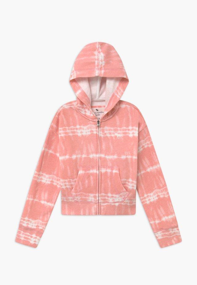 CORE FULLZIP WASH - Bluza rozpinana - pink