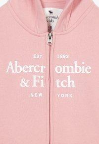 Abercrombie & Fitch - JAN FULLZIP  - Mikina na zip - pink - 3