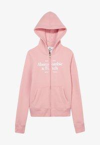 Abercrombie & Fitch - JAN FULLZIP  - Mikina na zip - pink - 2