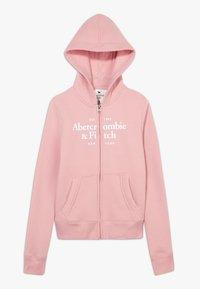 Abercrombie & Fitch - JAN FULLZIP  - Mikina na zip - pink - 0
