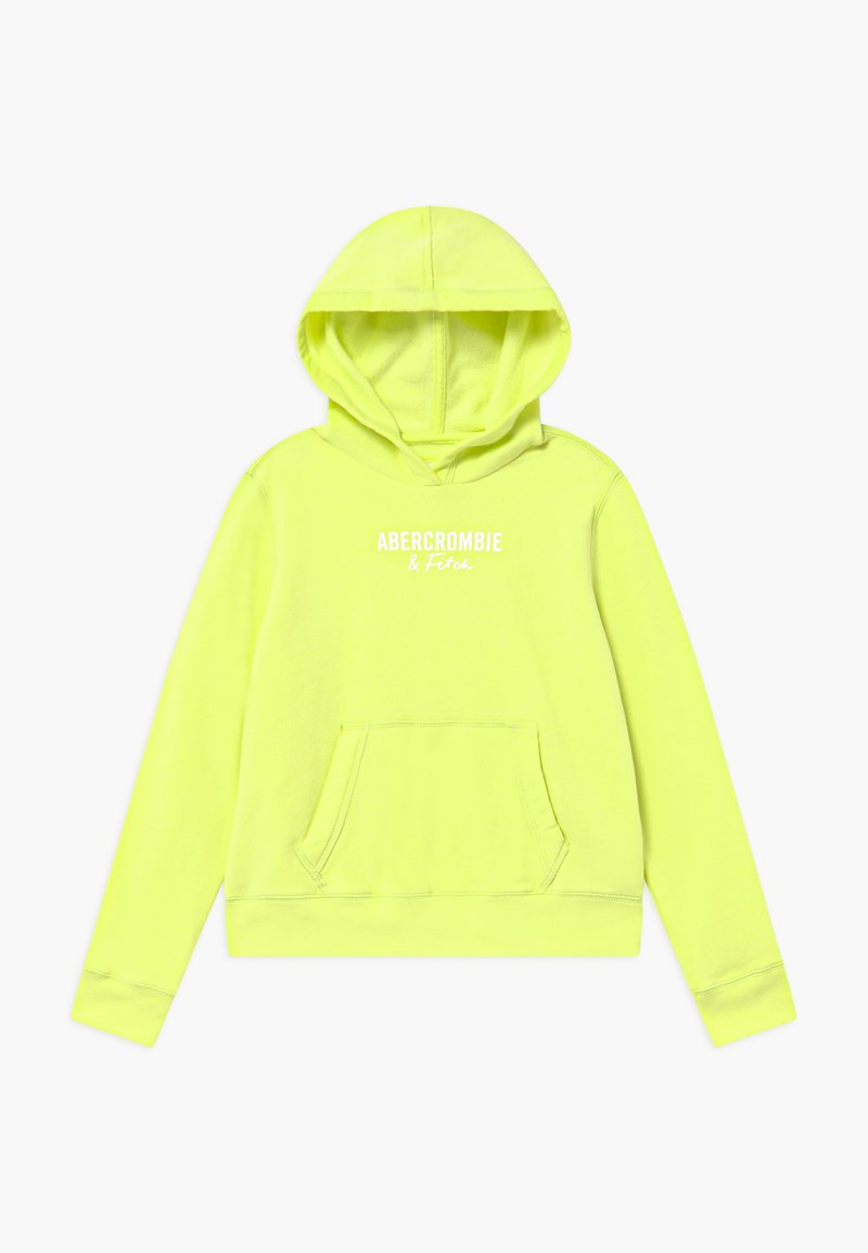 Abercrombie & Fitch - POPOVER - Mikina skapucí - lime green