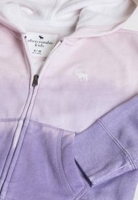 Abercrombie & Fitch - CORE FULLZIP WASH - Mikina na zip - purple - 3