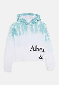 Abercrombie & Fitch - CORE POPOVER - Mikina skapucí - blue - 0