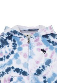 Abercrombie & Fitch - CORE FULLZIP - Mikina na zip - blue wash - 2