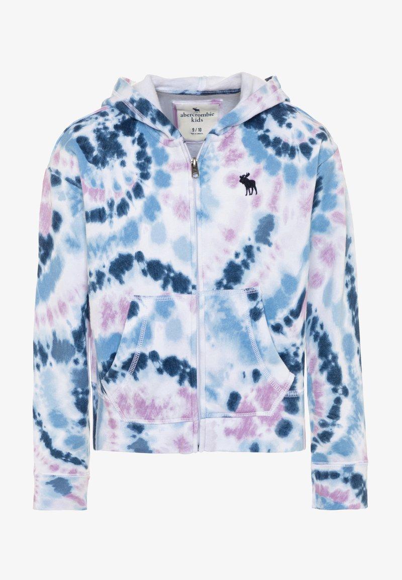 Abercrombie & Fitch - CORE FULLZIP - Mikina na zip - blue wash