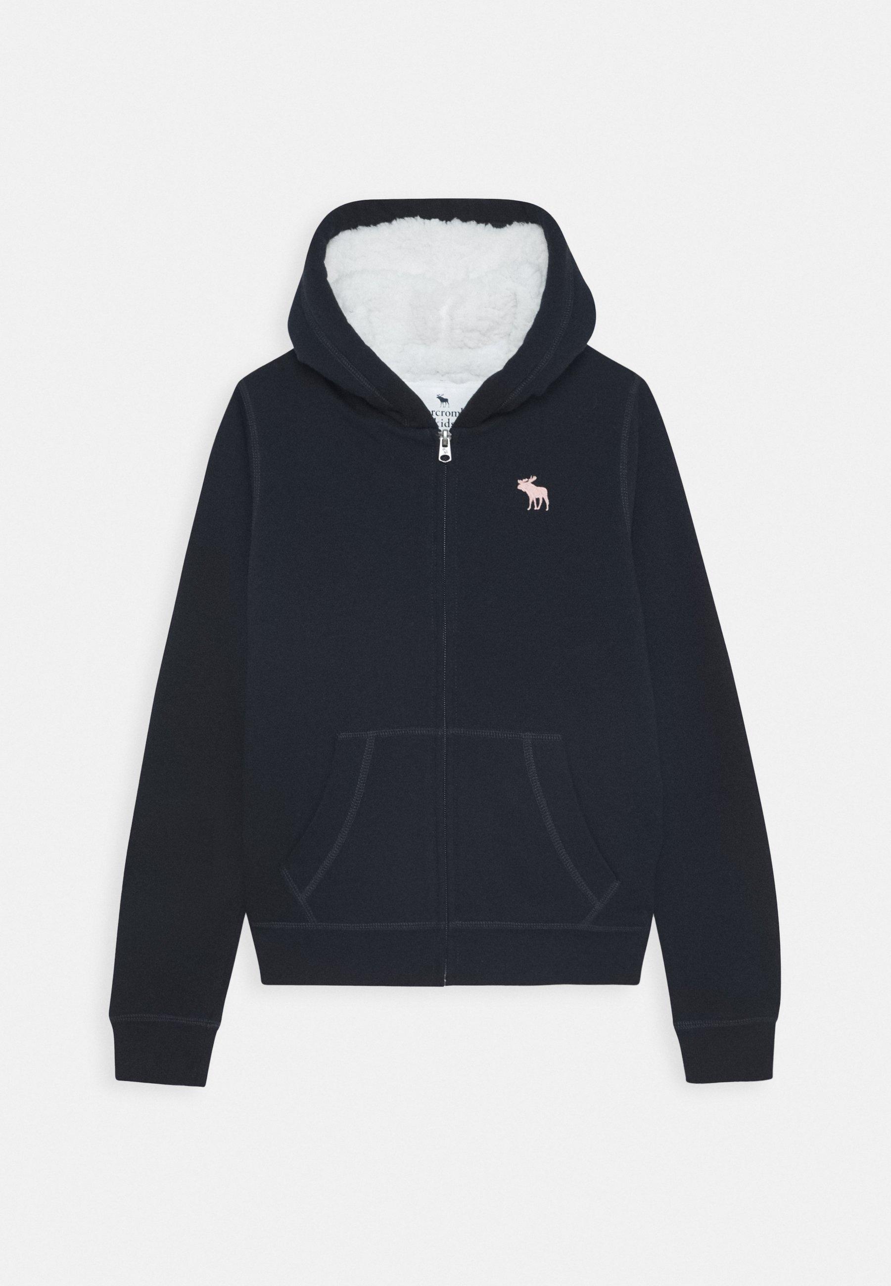 Abercrombie & Fitch veste en sweat zippée navy ZALANDO.FR