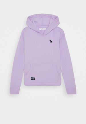 SOLID - Felpa con cappuccio - purple
