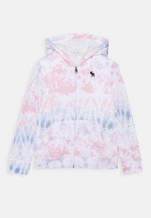 Zip-up hoodie - multi