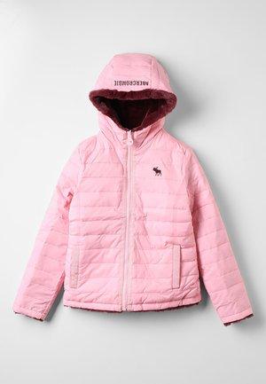 REVERSIBLE PUFFER - Veste d'hiver - pink/burg