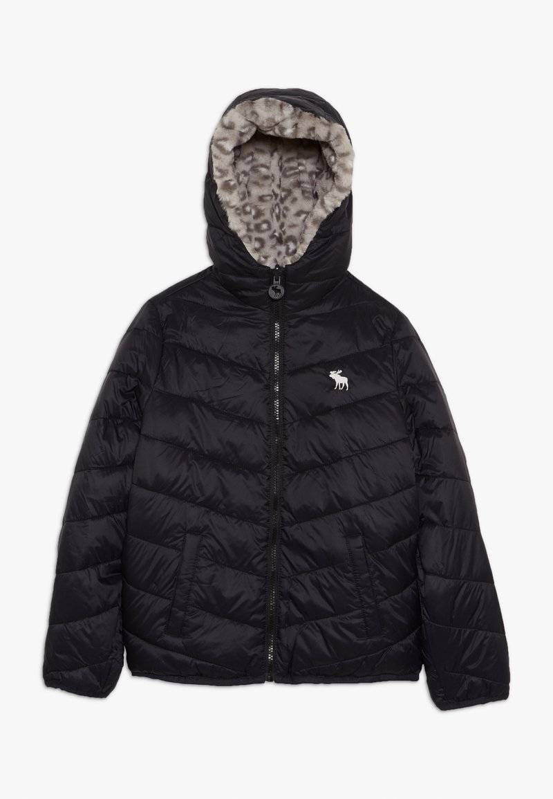 Abercrombie & Fitch - COZY PUFFER - Winter jacket - black