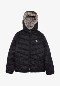 Abercrombie & Fitch - COZY PUFFER - Winter jacket - black - 3