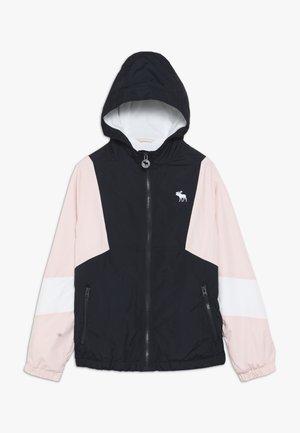 Lehká bunda - navy/pink