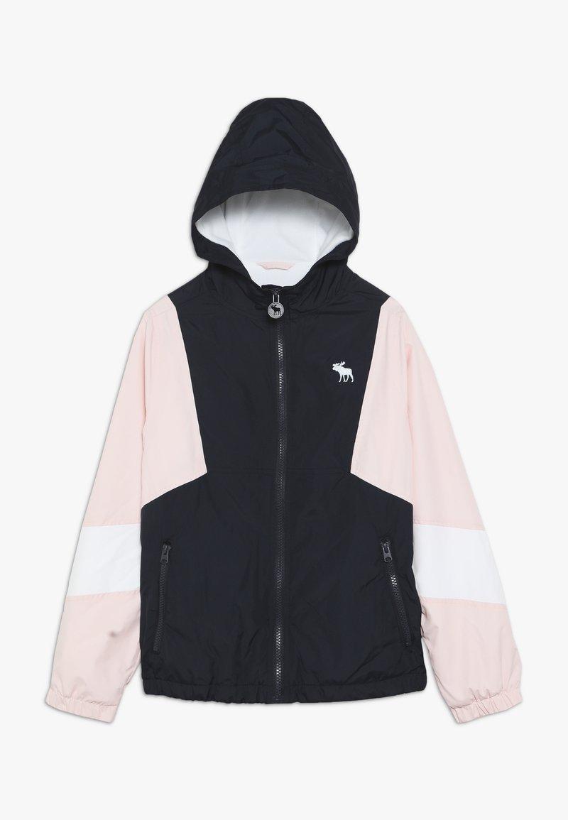 Abercrombie & Fitch - Light jacket - navy/pink