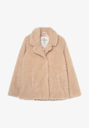 TEDDY COAT - Winterjas - beige